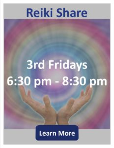 Reiki Share - 3rd Friday Every Month