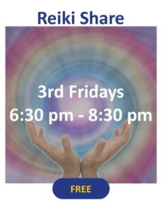 Reiki Shares - 3rd Friday Every Month