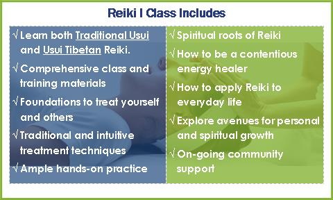 Reiki Level I provides comprehensiveteaching in both Traditional Usui and Usui Tibetan Reiki. During this class, you will receive both Traditional Usui and Usui TibetanReiki Level I attunements. You will also learn the foundations of treating yourself and others. We explore intuitive and traditional methods of giving treatments. Additionally, we go beyond just learning the basic techniques of Reikiand dive deep into the spiritual roots of Reiki, what it means to be an energy healer, and how to applyReiki to support your own personal and spiritual growth. This weekend is an opportunity to learn the skills of sharing Reiki and to reclaim your inner truth.
