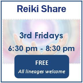 Reiki Share - 3rd Friday's Every Month